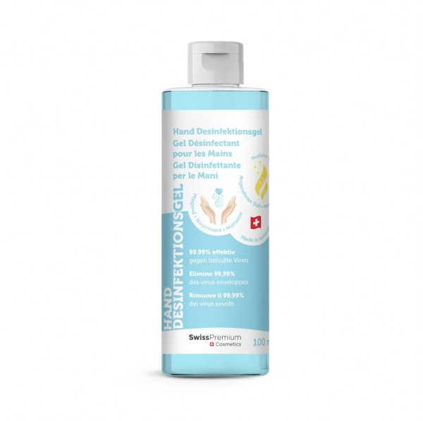 SWISS PREMIUM Hand Desinfektionsgel 100 ml