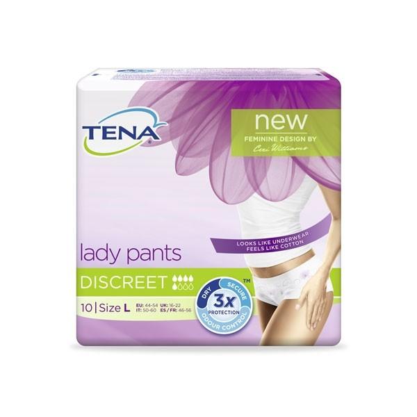 TENA Lady Pants Discreet L à 10 Stk.