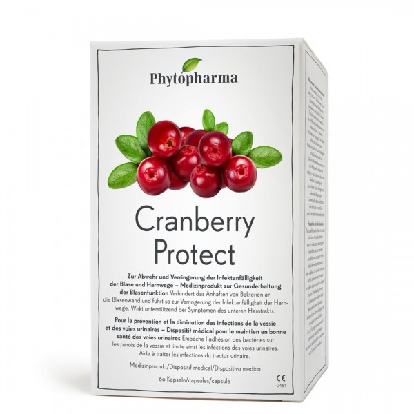 PHYTOPHARMA Cranberry Protect Kaps 60 Stk