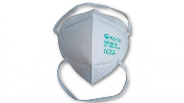 Atemschutzmasken KN95 Protective Mask Powecom (10 Stück) Hinterkopf-Befestigung