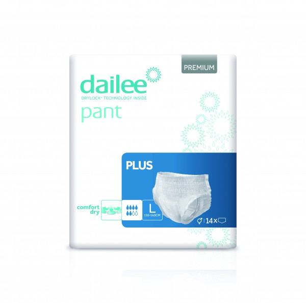 Dailee Pant Premium Plus L à 14 Stk.
