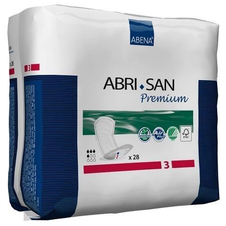 ABRI-SAN Premium Nr3 11x33cm rot à 28 Stk. (9266)