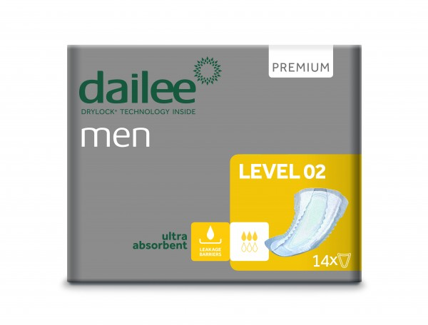 Dailee Man Premium Level 2 à 14 Stk.