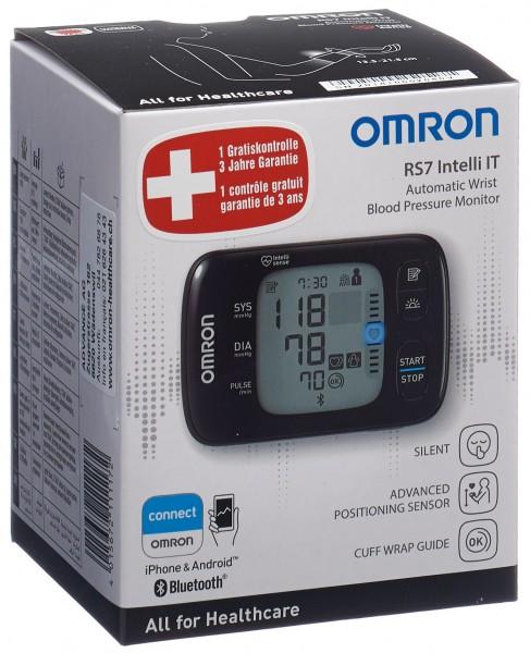 OMRON Blutdruckmessgerät Handgelenk RS7 Intelli IT
