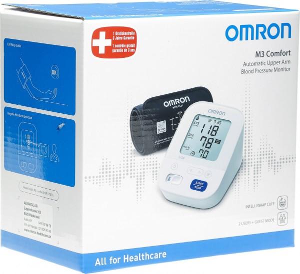 OMRON Blutdruckmessgerät Oberarm M3 Comfort