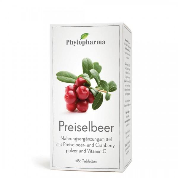 PHYTOPHARMA Preiselbeer Tabl 280 Stk