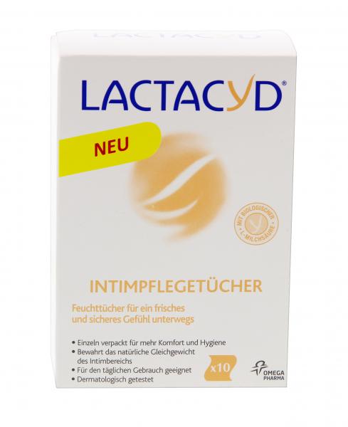 LACTACYD Intimpflegetücher einzeln 10 Stk