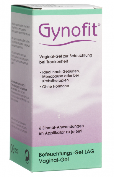 GYNOFIT Befeuchtungs-Gel Vaginalgel 6 x 5 ml