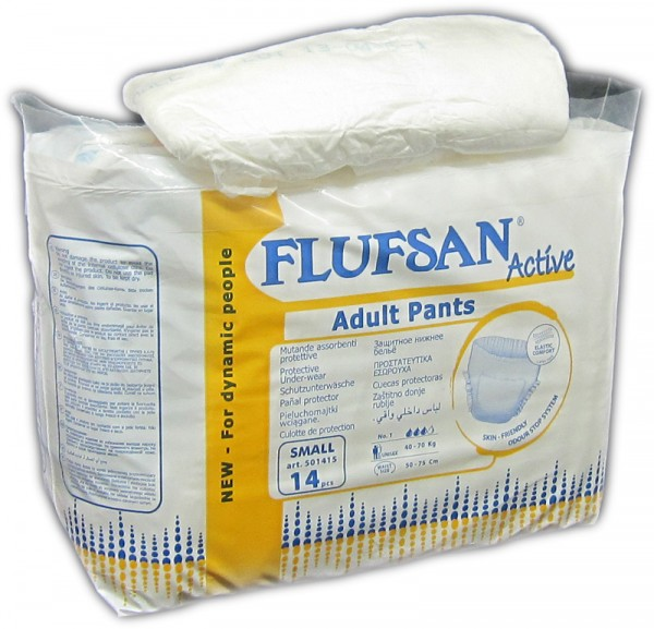 Flufsan active Adult Pants small à 14 Stk.