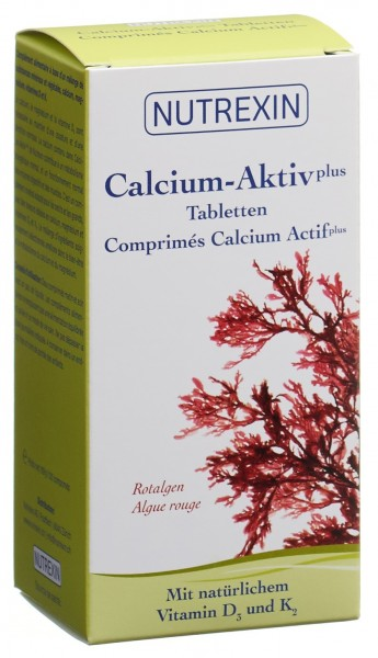 NUTREXIN Calcium-Aktiv plus Tabl Ds 120 Stk