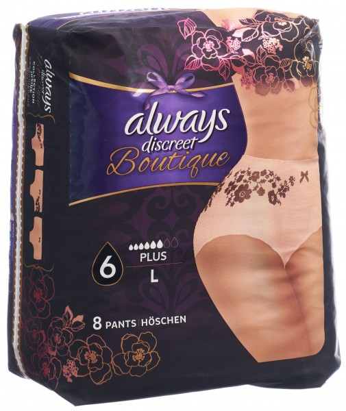 ALWAYS Discreet Boutique Inkont Pants L Plus 8 Stk